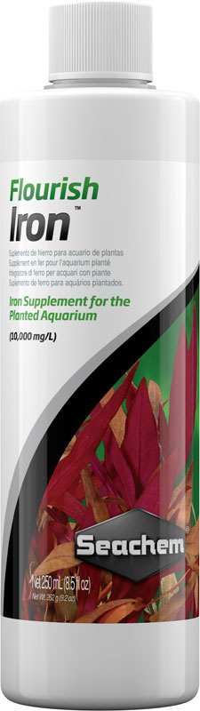 Seachem flourish hierro